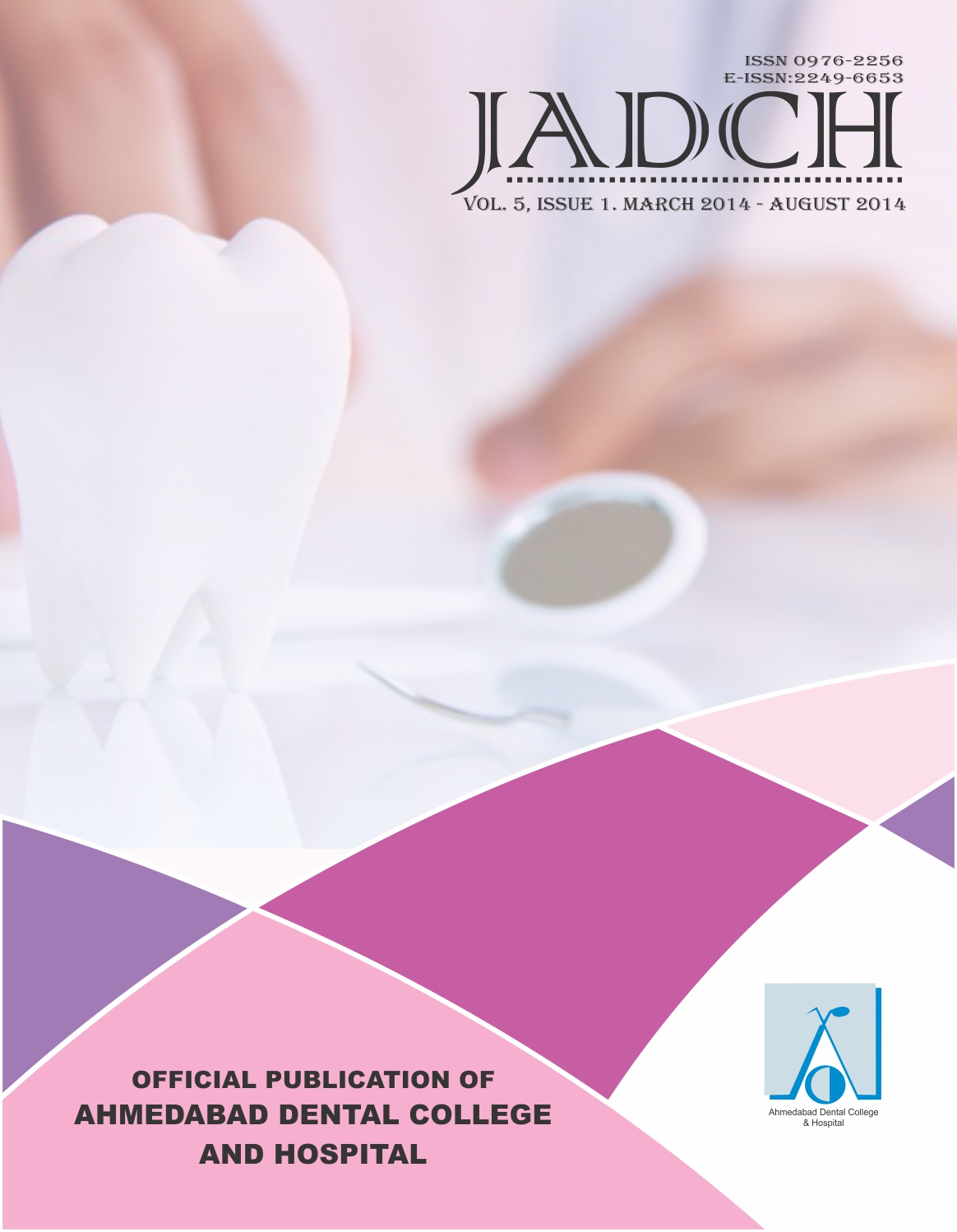 ADCH Journal - Vol 5